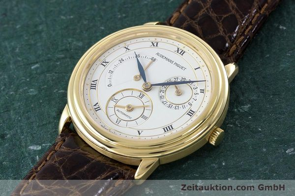 Used luxury watch Audemars Piguet Dual Time 18 ct gold automatic Kal. 2129  | 160972 01