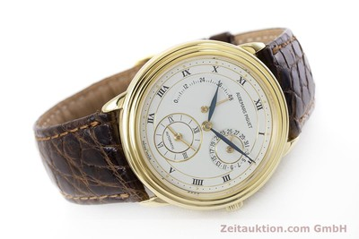 AUDEMARS PIGUET 18K GOLD GMT GANGRESERVE DUAL TIME HERRENUHR VP: 33800,- EURO [160972]