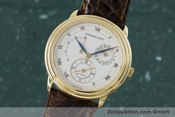 AUDEMARS PIGUET DUAL TIME 18 CT GOLD AUTOMATIC KAL. 2129 LP: 33800EUR [160972]