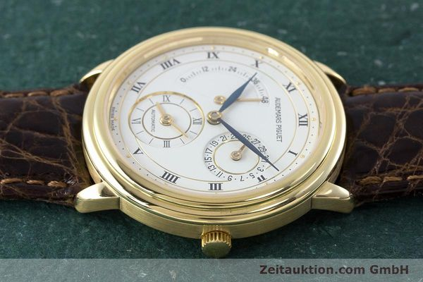 Used luxury watch Audemars Piguet Dual Time 18 ct gold automatic Kal. 2129  | 160972 05