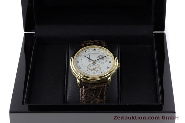 Used luxury watch Audemars Piguet Dual Time 18 ct gold automatic Kal. 2129  | 160972 07