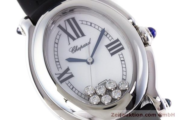 Used luxury watch Chopard Happy Sport steel quartz Kal. ETA 956.412 Ref. 27/8937-23  | 160973 02