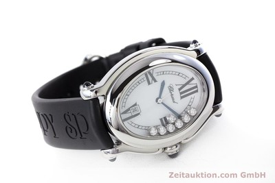 CHOPARD HAPPY SPORT STEEL QUARTZ KAL. ETA 956.412 LP: 4530EUR [160973]
