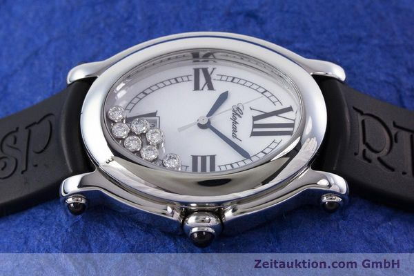 Used luxury watch Chopard Happy Sport steel quartz Kal. ETA 956.412 Ref. 27/8937-23  | 160973 05