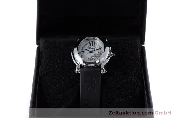 Used luxury watch Chopard Happy Sport steel quartz Kal. ETA 956.412 Ref. 27/8937-23  | 160973 07