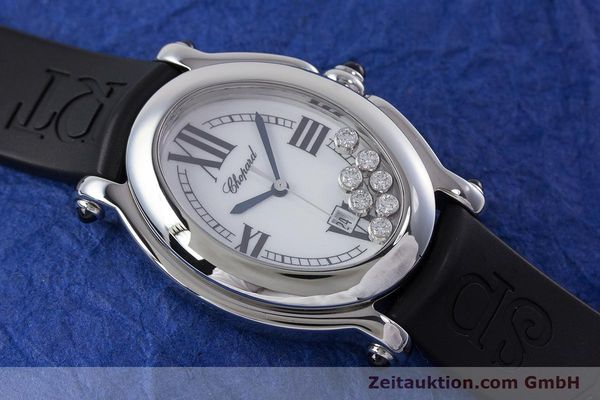 Used luxury watch Chopard Happy Sport steel quartz Kal. ETA 956.412 Ref. 27/8937-23  | 160973 13