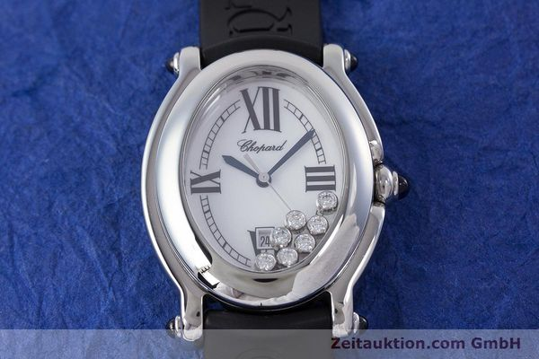 Used luxury watch Chopard Happy Sport steel quartz Kal. ETA 956.412 Ref. 27/8937-23  | 160973 14