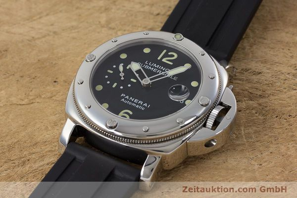 Used luxury watch Panerai Luminor Submersible steel automatic Kal. ETA A05511 Ref. OP6527 LIMITED EDITION | 160982 01