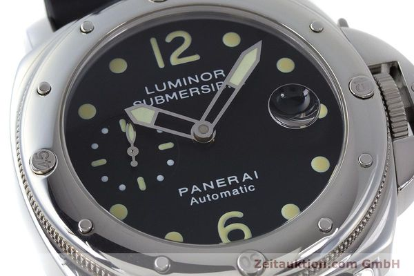 Used luxury watch Panerai Luminor Submersible steel automatic Kal. ETA A05511 Ref. OP6527 LIMITED EDITION | 160982 02