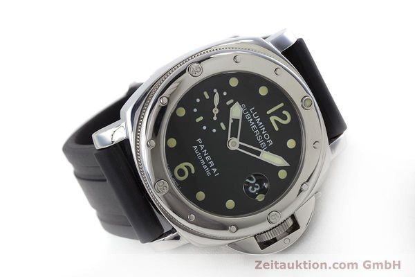 Used luxury watch Panerai Luminor Submersible steel automatic Kal. ETA A05511 Ref. OP6527 LIMITED EDITION | 160982 03