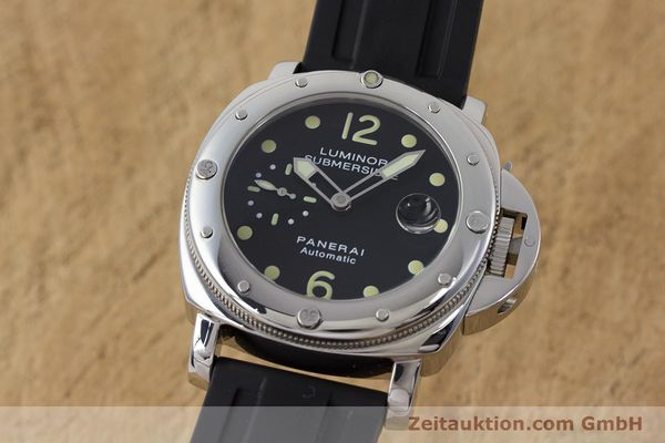 PANERAI LUMINOR SUBMERSIBLE STEEL AUTOMATIC KAL. ETA A05511 LP: 6600EUR [160982]