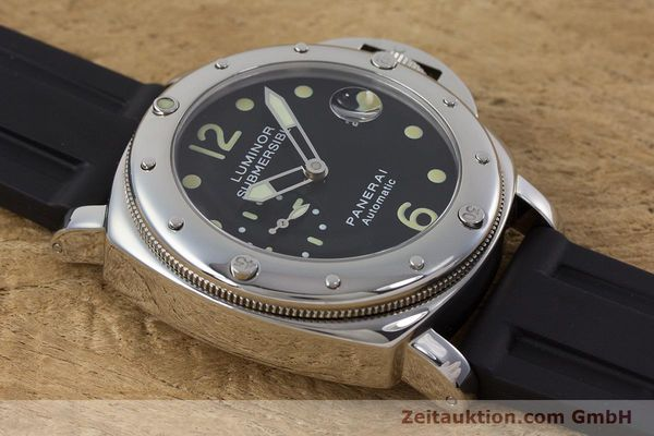 Used luxury watch Panerai Luminor Submersible steel automatic Kal. ETA A05511 Ref. OP6527 LIMITED EDITION | 160982 15