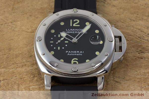 Used luxury watch Panerai Luminor Submersible steel automatic Kal. ETA A05511 Ref. OP6527 LIMITED EDITION | 160982 16