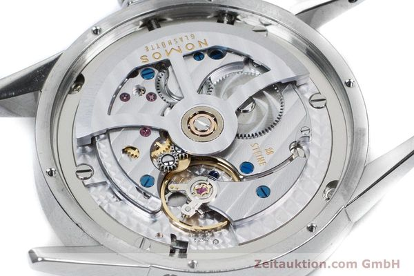 Used luxury watch Nomos Zürich Weltzeituhr steel automatic Kal. XI  | 160985 09