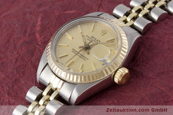 Used luxury watch Rolex Lady Datejust steel / gold automatic Kal. 2030 Ref. 6917  | 160986 01