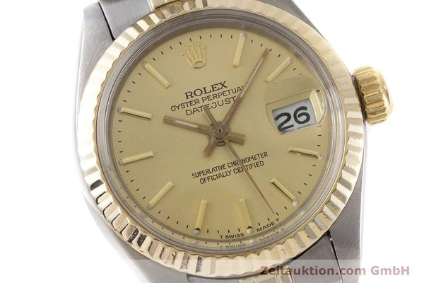 Used luxury watch Rolex Lady Datejust steel / gold automatic Kal. 2030 Ref. 6917  | 160986 02