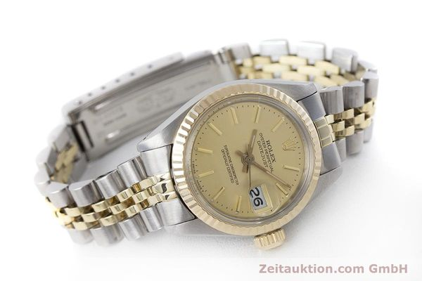 Used luxury watch Rolex Lady Datejust steel / gold automatic Kal. 2030 Ref. 6917  | 160986 03