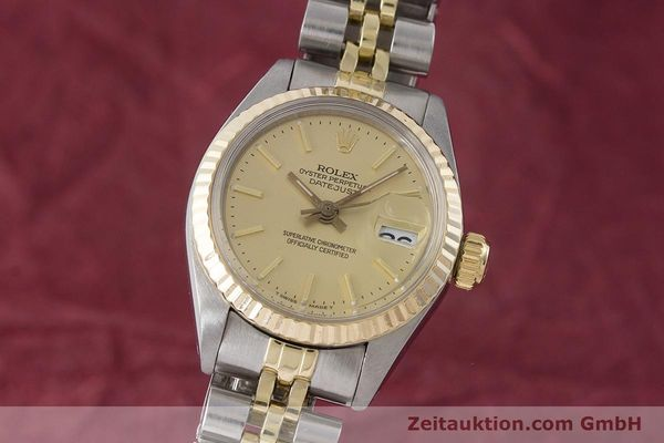 Used luxury watch Rolex Lady Datejust steel / gold automatic Kal. 2030 Ref. 6917  | 160986 04