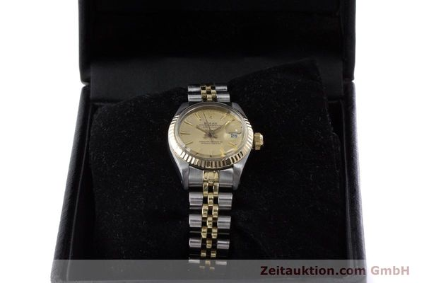 Used luxury watch Rolex Lady Datejust steel / gold automatic Kal. 2030 Ref. 6917  | 160986 07