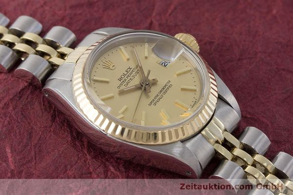 Used luxury watch Rolex Lady Datejust steel / gold automatic Kal. 2030 Ref. 6917  | 160986 15