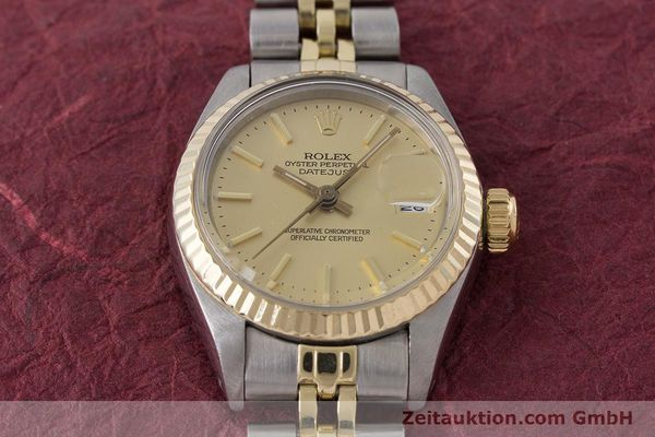 Used luxury watch Rolex Lady Datejust steel / gold automatic Kal. 2030 Ref. 6917  | 160986 16