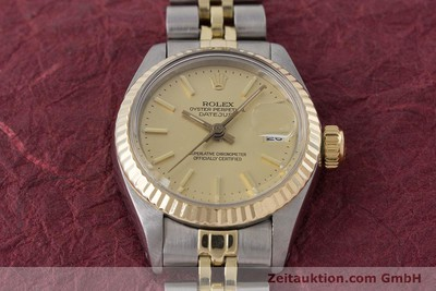 ROLEX LADY OYSTER DATEJUST GOLD / STAHL DAMENUHR AUTOMATIK 6917 VP: 6950,- Euro [160986]