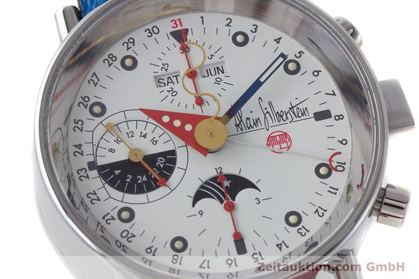 Used luxury watch Alain Silberstein Krono Bauhaus chronograph steel automatic Kal. ETA 7751  | 160987 02