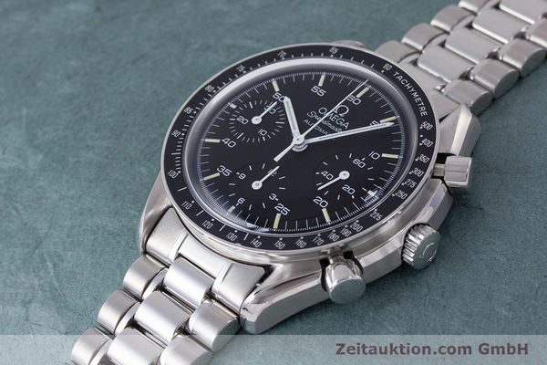 Used luxury watch Omega Speedmaster chronograph steel automatic Kal. 2890A2 Ref. 3510.50.00  | 160992 01