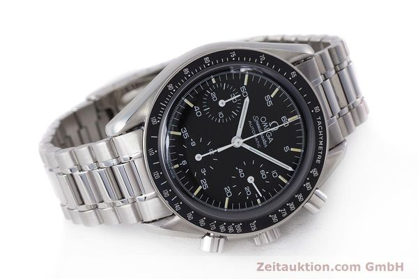 Used luxury watch Omega Speedmaster chronograph steel automatic Kal. 2890A2 Ref. 3510.50.00  | 160992 03