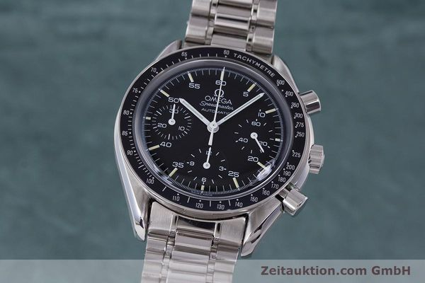 Used luxury watch Omega Speedmaster chronograph steel automatic Kal. 2890A2 Ref. 3510.50.00  | 160992 04