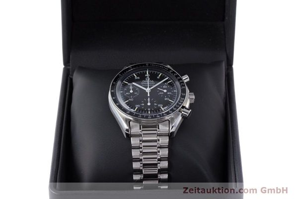 Used luxury watch Omega Speedmaster chronograph steel automatic Kal. 2890A2 Ref. 3510.50.00  | 160992 07