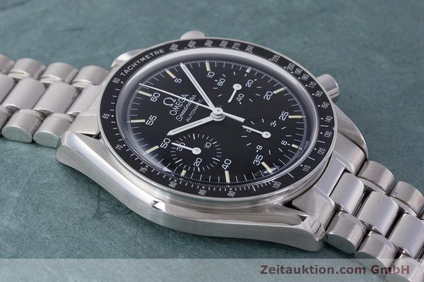Used luxury watch Omega Speedmaster chronograph steel automatic Kal. 2890A2 Ref. 3510.50.00  | 160992 14