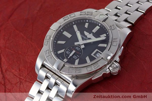 Used luxury watch Breitling Galactic steel automatic Kal. B37 ETA 2895-2 Ref. A37330  | 160995 01