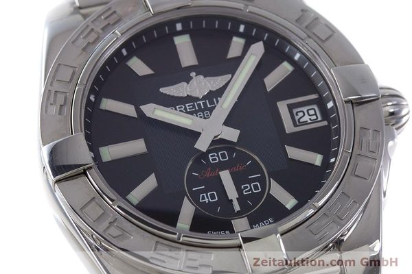 Used luxury watch Breitling Galactic steel automatic Kal. B37 ETA 2895-2 Ref. A37330  | 160995 02