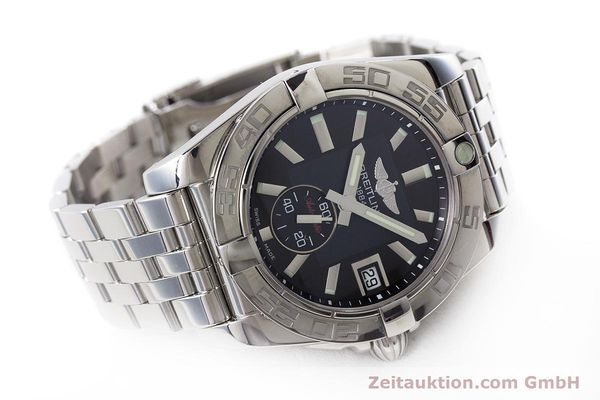 Used luxury watch Breitling Galactic steel automatic Kal. B37 ETA 2895-2 Ref. A37330  | 160995 03