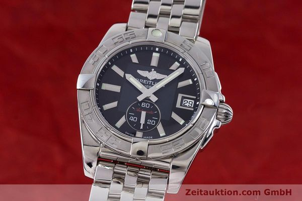 Used luxury watch Breitling Galactic steel automatic Kal. B37 ETA 2895-2 Ref. A37330  | 160995 04