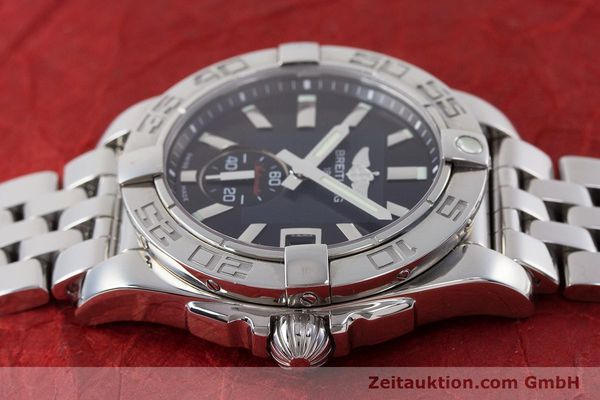 Used luxury watch Breitling Galactic steel automatic Kal. B37 ETA 2895-2 Ref. A37330  | 160995 05