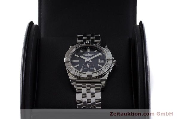 Used luxury watch Breitling Galactic steel automatic Kal. B37 ETA 2895-2 Ref. A37330  | 160995 07