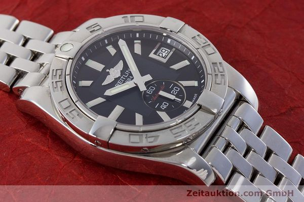 Used luxury watch Breitling Galactic steel automatic Kal. B37 ETA 2895-2 Ref. A37330  | 160995 16