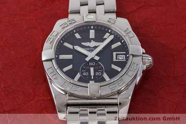 Used luxury watch Breitling Galactic steel automatic Kal. B37 ETA 2895-2 Ref. A37330  | 160995 17