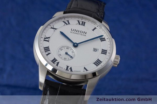 UNION GLASHÜTTE 1893 ACIER AUTOMATIQUE KAL. 2899227 LP: 1680EUR  [160996]