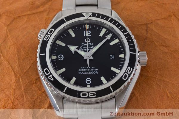 Used luxury watch Omega Seamaster steel automatic Kal. 2500C Ref. 22005000  | 160997 19