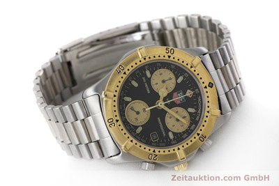 TAG HEUER PROFESSIONAL CHRONOGRAPHE ACIER / OR QUARTZ LP: 2300EUR [160998]