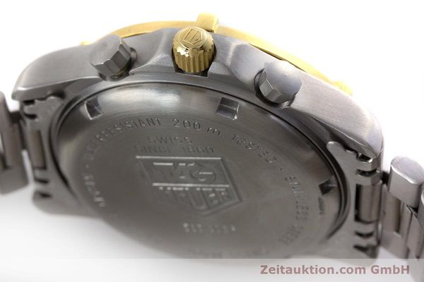 Used luxury watch Tag Heuer Professional chronograph steel / gold quartz Ref. 565.306R  | 160998 08