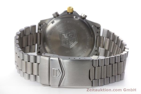 Used luxury watch Tag Heuer Professional chronograph steel / gold quartz Ref. 565.306R  | 160998 10