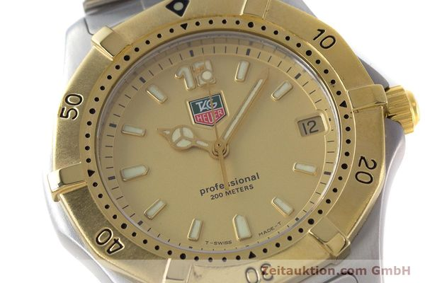 Used luxury watch Tag Heuer Professional steel quartz Kal. 4.96 ETA 955112 Ref. WK1121  | 160999 02