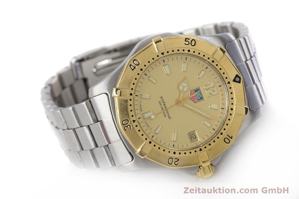 Used luxury watch Tag Heuer Professional steel quartz Kal. 4.96 ETA 955112 Ref. WK1121  | 160999 03