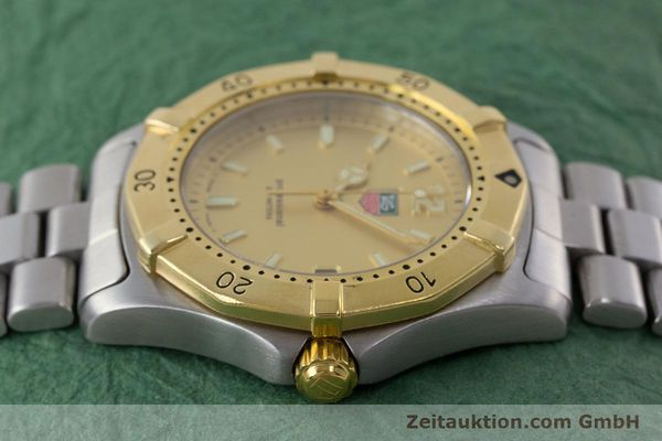 Used luxury watch Tag Heuer Professional steel quartz Kal. 4.96 ETA 955112 Ref. WK1121  | 160999 05