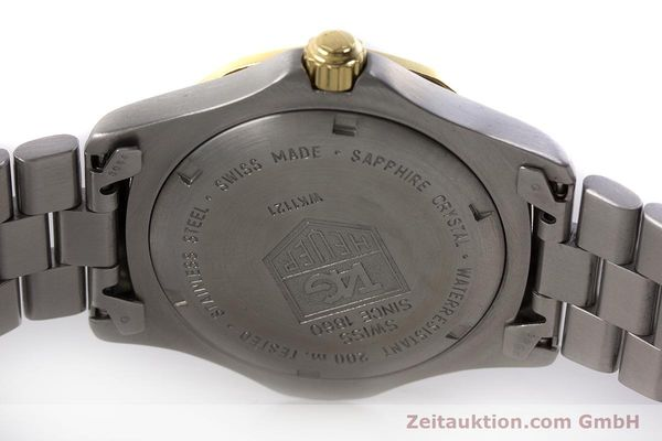 Used luxury watch Tag Heuer Professional steel quartz Kal. 4.96 ETA 955112 Ref. WK1121  | 160999 09