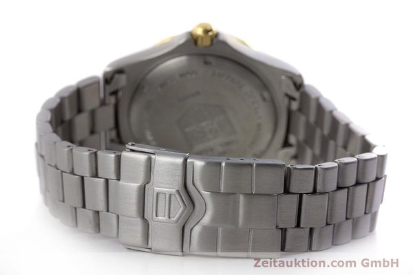 Used luxury watch Tag Heuer Professional steel quartz Kal. 4.96 ETA 955112 Ref. WK1121  | 160999 11
